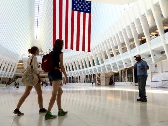 Neuer Bahnhof am Ground Zero