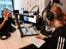 Kleine Sprechübung im ARD Studio