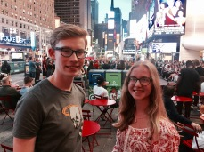 Mittendrin in New York: Times Square